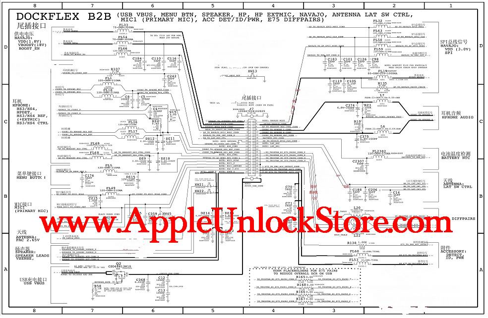 AppleUnlockStore :: Service Manuals :: LG G3 D855 Circuit Diagram ...