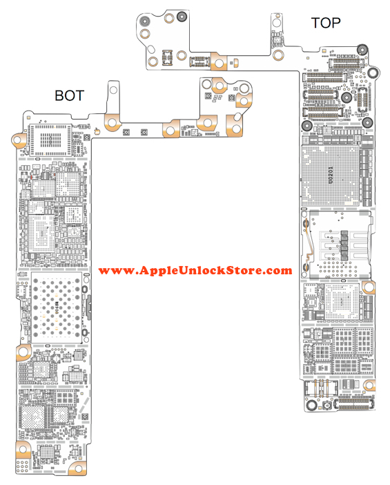 appleunlockstore    service manuals    iphone 6 circuit