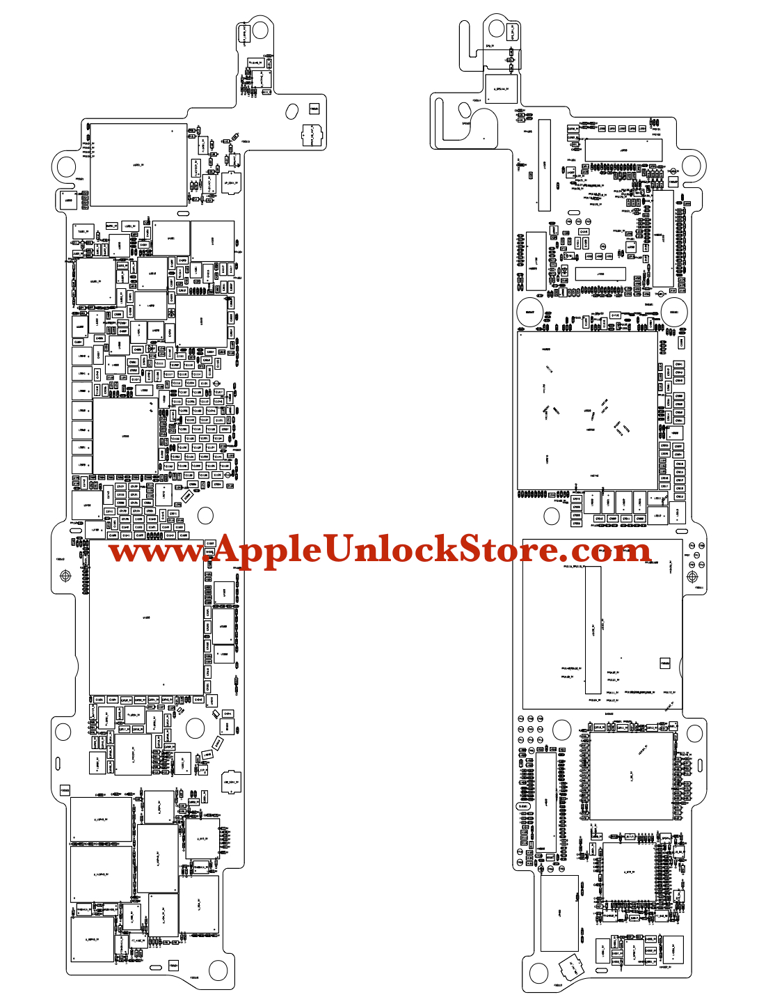 Appleunlockstore    Service Manuals    Iphone Se Circuit