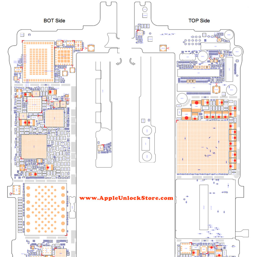 Appleunlockstore Case Iphone 6s Plus Circuit Diagram Service Engine Schematic Manual
